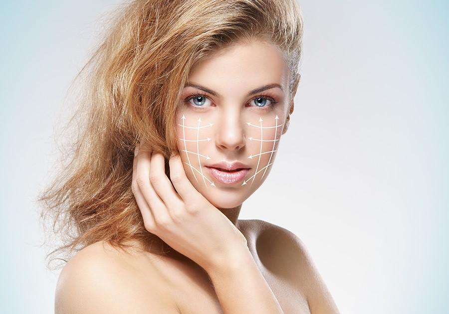 viso femminile medicina estetica