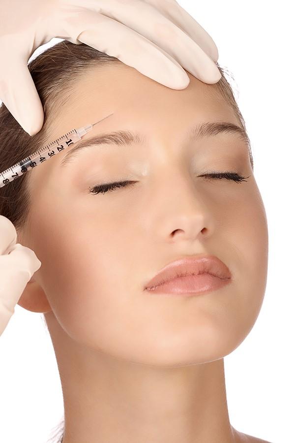 iniezione botox viso
